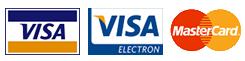 Мы принимаем к оплате Visa и Mastercard