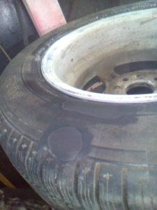 Ремонт боковых порезов и грыж шины в Йошкар-Оле